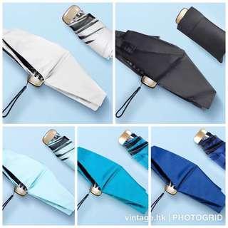 <升級版> 超輕韓版防UV晴雨傘