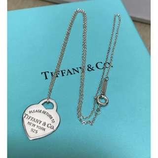 原價$1200 Return to Tiffany Heart Tag Necklace