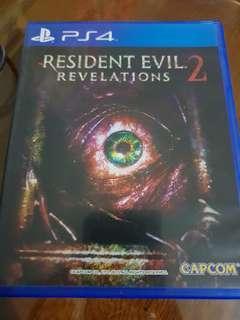 Ps4 game: Resident Evil 2 Revelations