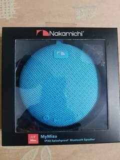 Nakamichi MyMizu IPX6 Portable Bluetooth Speaker (Blue)