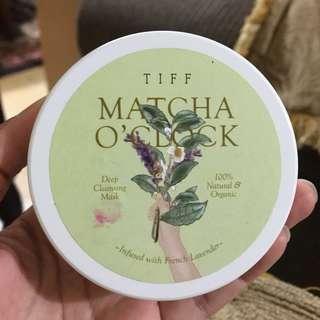 Tiff Masker - Matcha O'Clock
