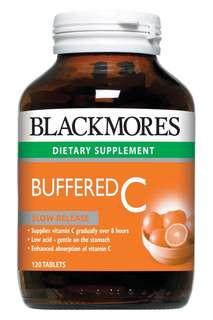 🚚 Blackmores buffered C slow release 120 tablets