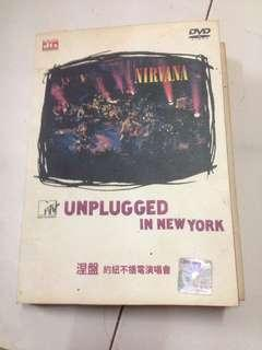 Dvd nirvana unplugged in new york.
