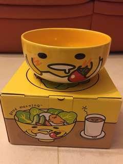 麥當勞 gudetama 梳乎蛋 蛋黃哥(黃色)陶瓷碗