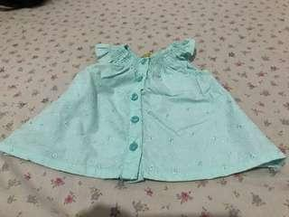 Penelope Off shoulder Blouse for 6 - 12 months
