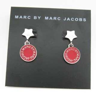 Marc Jacobs red star earrings 耳環