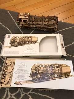 UGEARS 立體火車模型