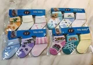 🚚 3 pairs of Baby Socks