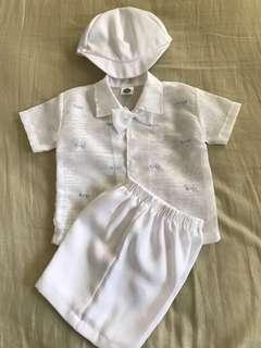 Baby Boy Baptismal Set