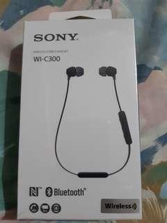 全新 sony wi-c300 藍牙耳機 NFC wireless 無線 有單 6個月保養