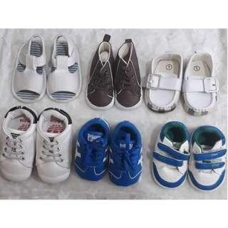 Super sale 6 pairs of shoes for little tots!!!