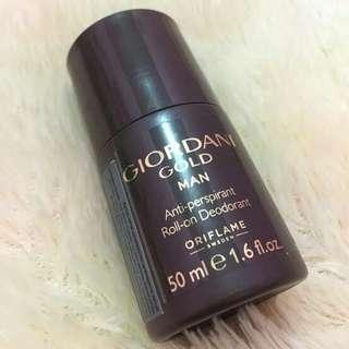 Giordani Gold Man Roll on Deodorant