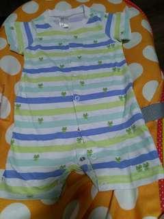 ♻️環保價♻️H&M嬰兒夾衣 Jumpsuit (4~6個月) 🌟2件8折
