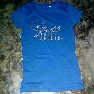 Guess Blue Shirt/Top