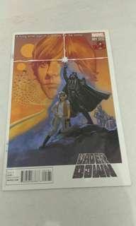 Marvel Star Wars vader comic variant.