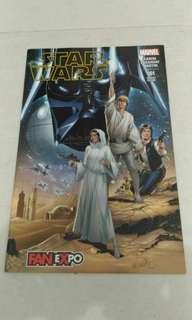 Marvel Star Wars comic variant