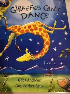Picture Book Giraffes Can't Dance