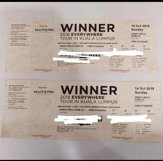 WINNER TICKET