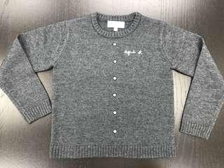 Brand new Agnes b knitted top 全新6A女童裝冷衫