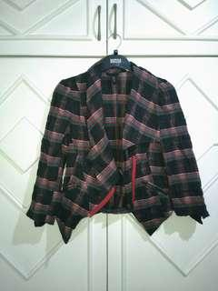 Authentic Topshop check jacket uk 6 xs