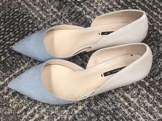 Zaza 低跟鞋 高跟鞋