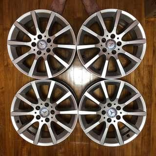 c200 coupe | Tyres & Rims | Carousell Singapore