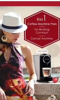 Arissto coffee machine capsule