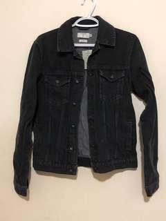 Brand new Topman Denim Jacket Black Size X-Small