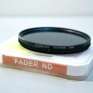 🆕72mm ND Filter 2-400 Forth Eye 可調減光鏡 HD Adjustable Variable 100%new with box 相機 濾鏡 ND鏡 全新