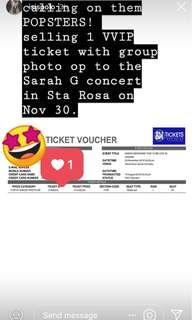 Sarah G live in Sta Rosa
