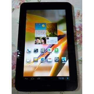 🚚 HUAWEI MediaPad 7 Vogue華為7吋8GB電話平板電腦3G版+Wi-Fi版,功能都正常,只賣1700元