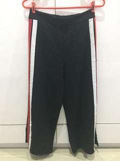 Red White Stripe Culottes