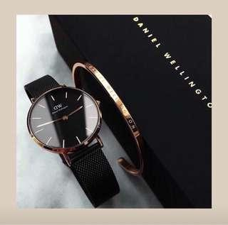 Daniel Wellington Classic Black Petite Ashfield