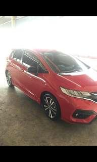 Honda jazz rs cvt dp minim 16jutaan