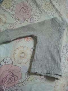 Old Navy Gray Long Sleeve