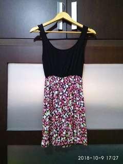 #1010 Flowers dress