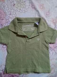 Guess Green Polo