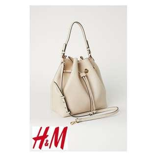 H&M Large Bucket PU Leather Bag