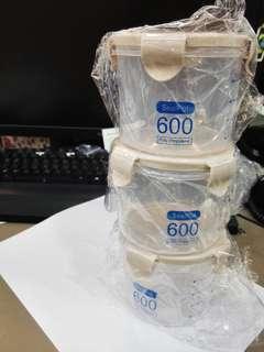 [全新] 五穀雜糧收納盒($20共3個)