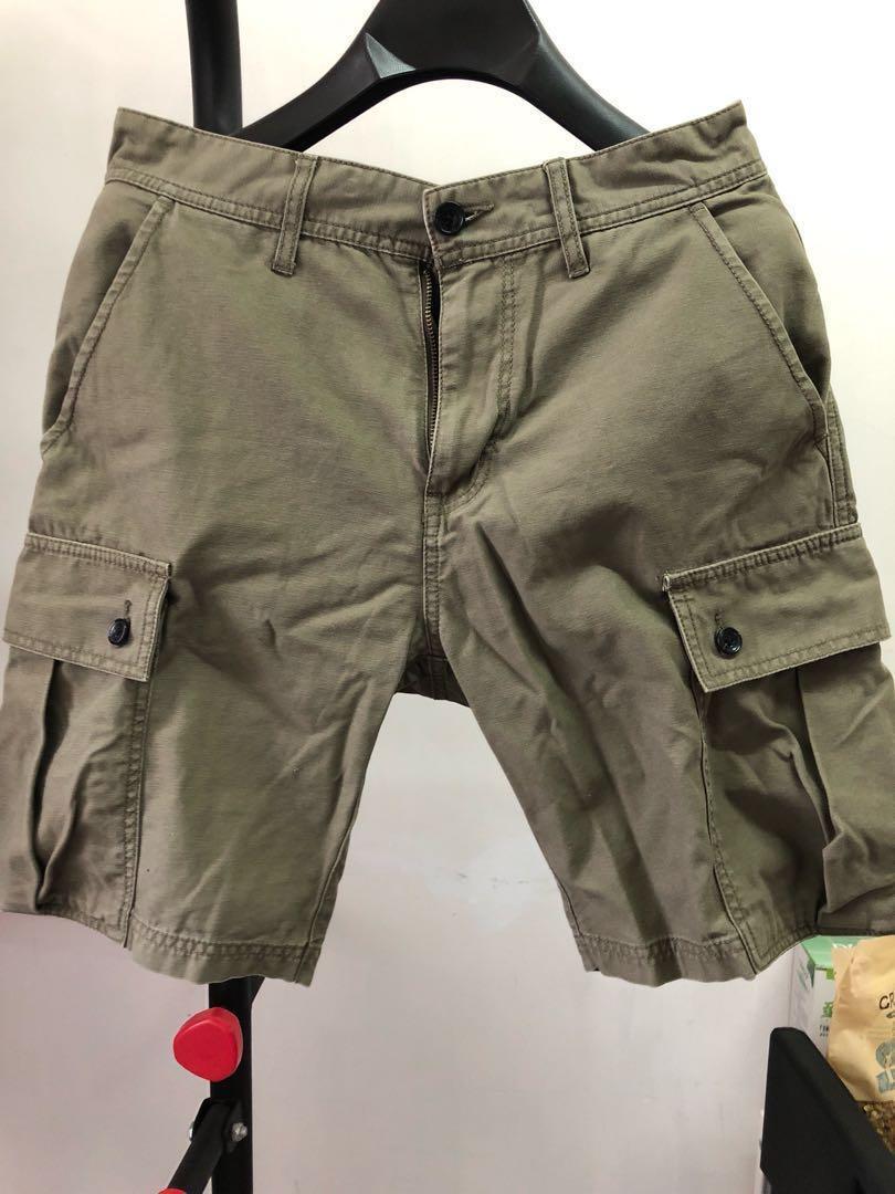 軍綠色短褲 日本牌子 購至日本