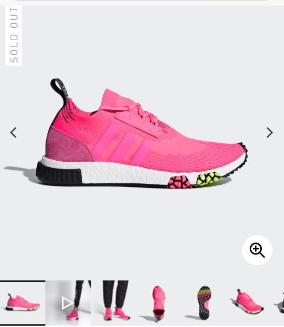 buy online 21c43 5b9e8 Adidas NMD Racer Primeknit - Pink Limited edition