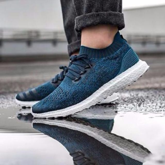 sneakers for cheap e70e9 4bf52 Adidas Ultra Boost Uncaged x Parley  Legend Blue   Core Blue ...