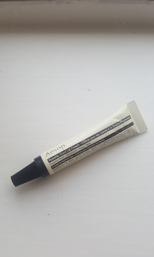 Aesop Rosehip Seed Lip Cream 玫瑰籽護唇霜