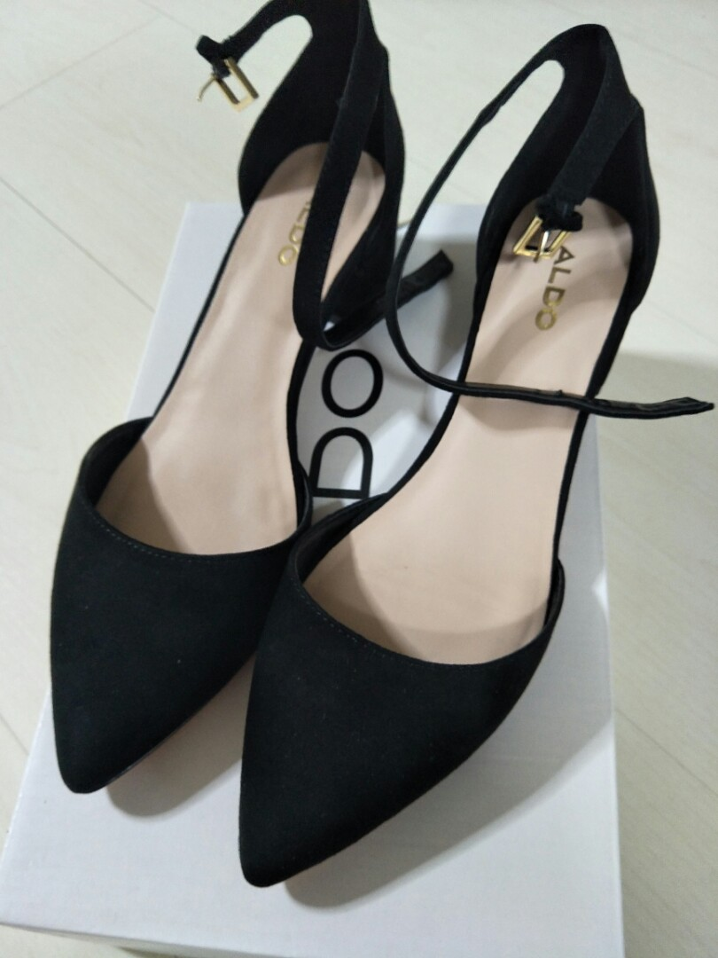 cb88f55fbc1 ALDO Ankle strap block heel