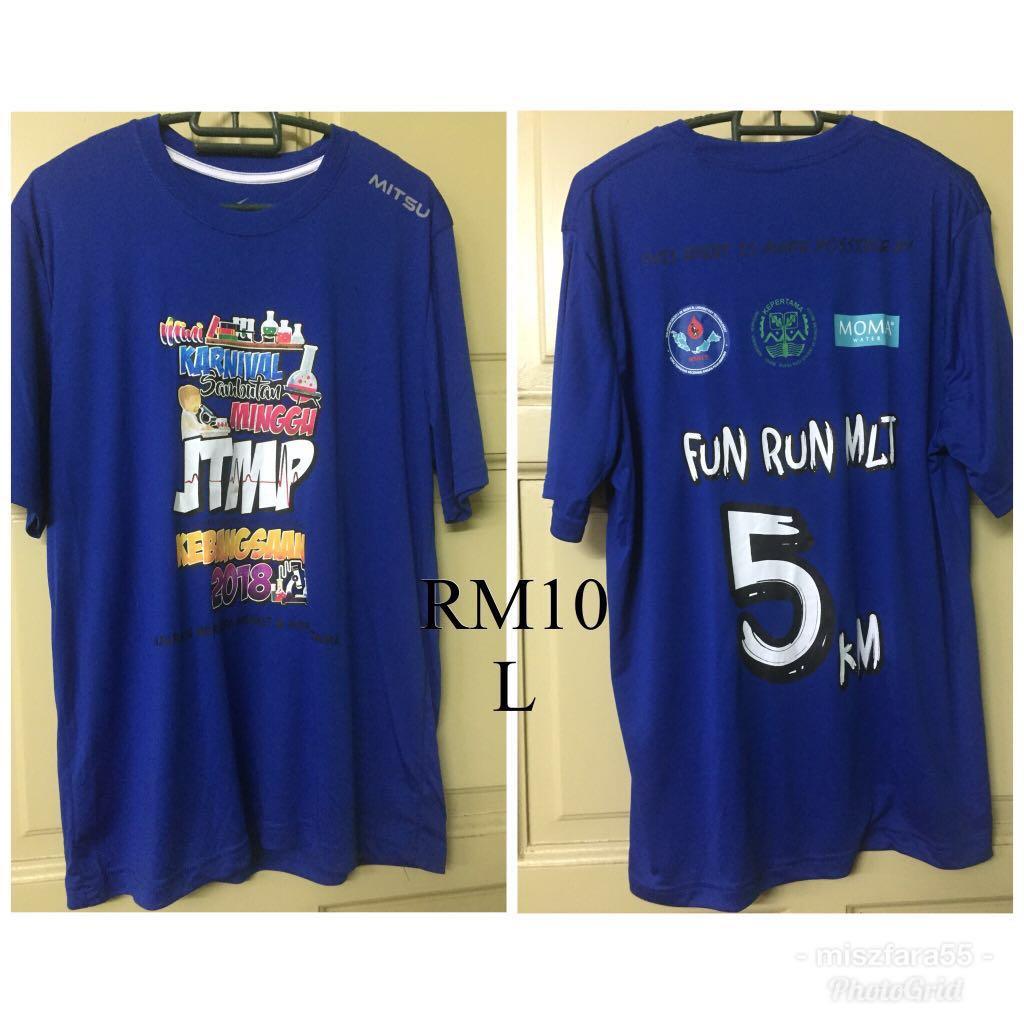 Baju Fun Run 2018  H M50  MY1010 fc87d7143