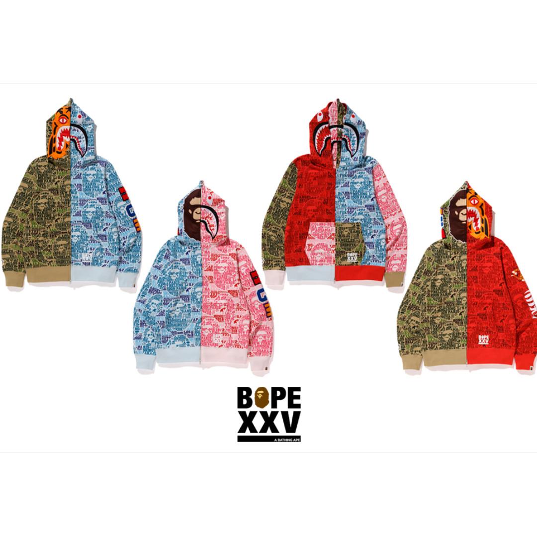 047c372e3 BAPE XXV Cities Camo Hoodie, Men's Fashion, Clothes, Tops on Carousell