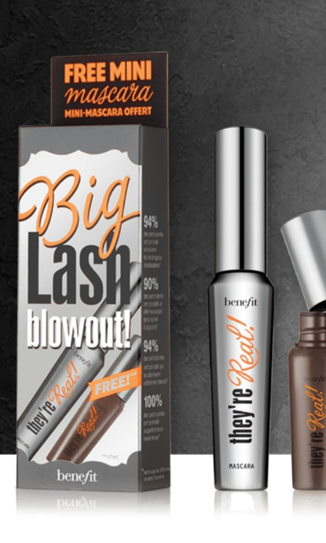 113c4a396bc Benefit Big Lash Blowout Set, Health & Beauty, Makeup on Carousell