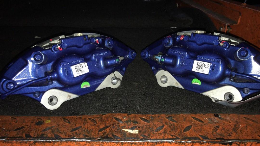 BMW M-Sport Brembo 4pot brake calipers for G12 (Brand New), Car Accessories, Accessories on