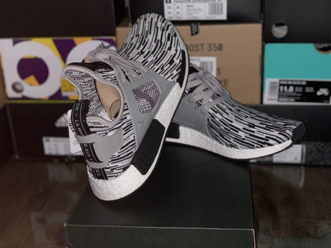 16a0211d3 BNIB Adidas Originals NMD R1 PK Glitch Grey