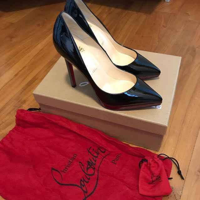 474ffc86c4f9 Christian Louboutin Pigalle Pluto Patent 120 Heels